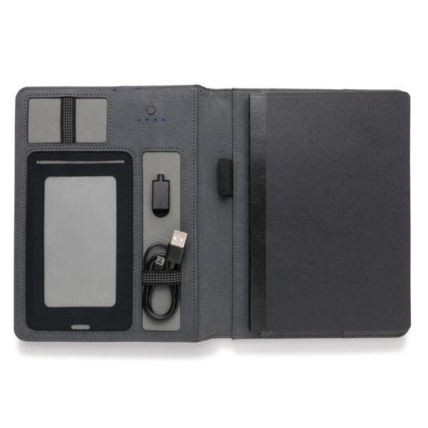 Carnet de notes avec batterie de secours 3000mAh - ISOCOM - OBJETS ET TEXTILES PERSONNALISES - NANTES