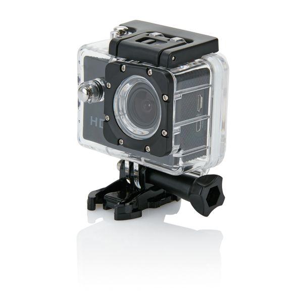 Caméra sport HD avec 11 accessoires, Objet personnalisable, comité social économique