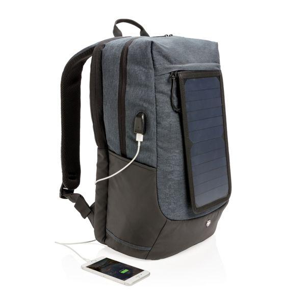 """Sac à dos solaire pour ordinateur 15"""""""