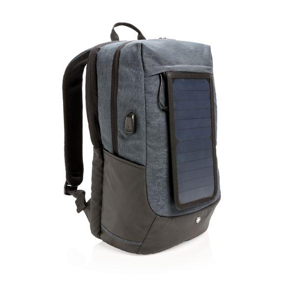 """Sac à dos solaire pour ordinateur 15"""" WIZ PUB"""