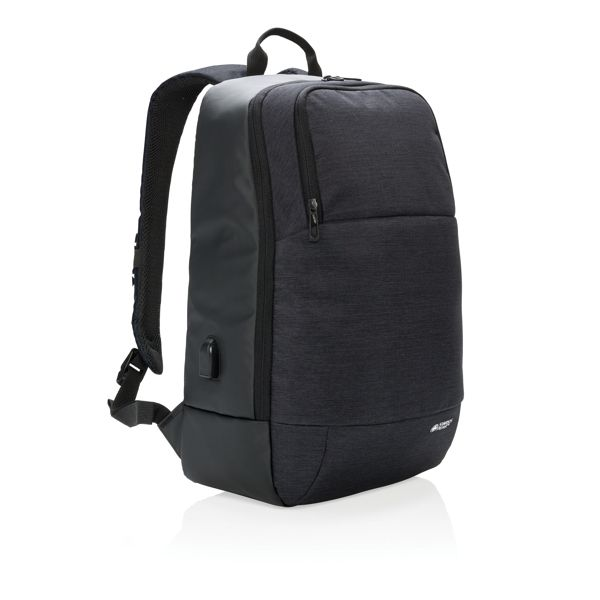 "Modern 15"" laptop backpack"
