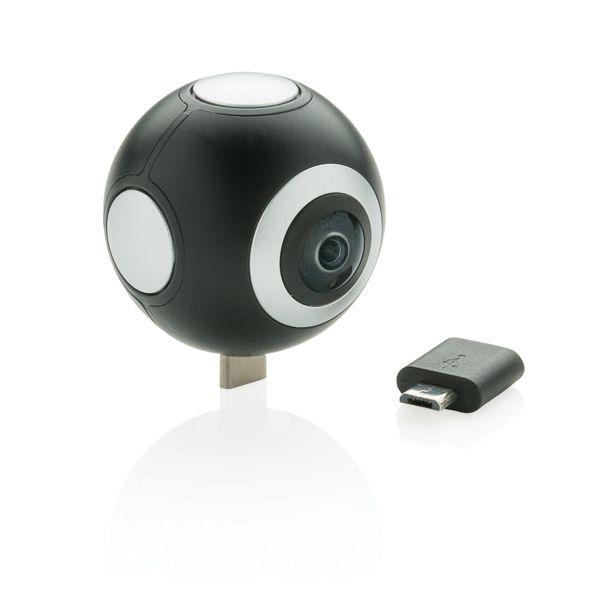 360 kamera kaksoislinssillä