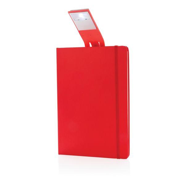 Carnet de notes A5 avec marque-page LED, Objet personnalisable, comité social économique
