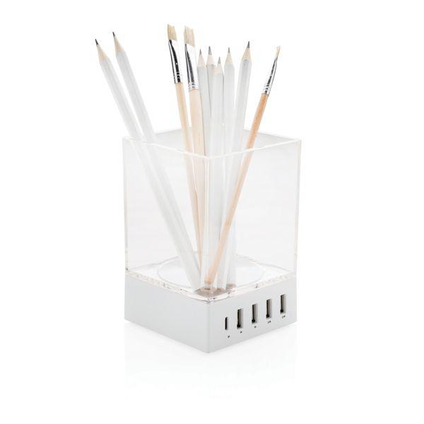 Porte-crayon chargeur USB, Objet personnalisable, comité social économique