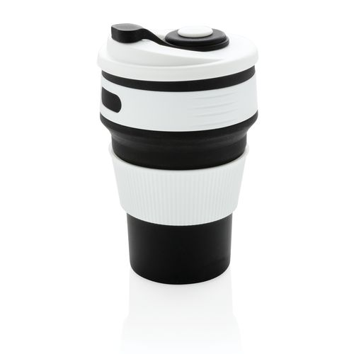 Foldable silicone cup PERSONAL GIFTS AZAP  branded Personalized Printed Goodies by Azap Business Gift