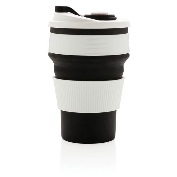 Mug en silicone pliable CADEAUX NOMINATIFS AZAP  Objets publicitaires personnalisé par Azap articles promotionnels Cadeau d'affaire