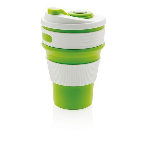 Mug en silicone pliable