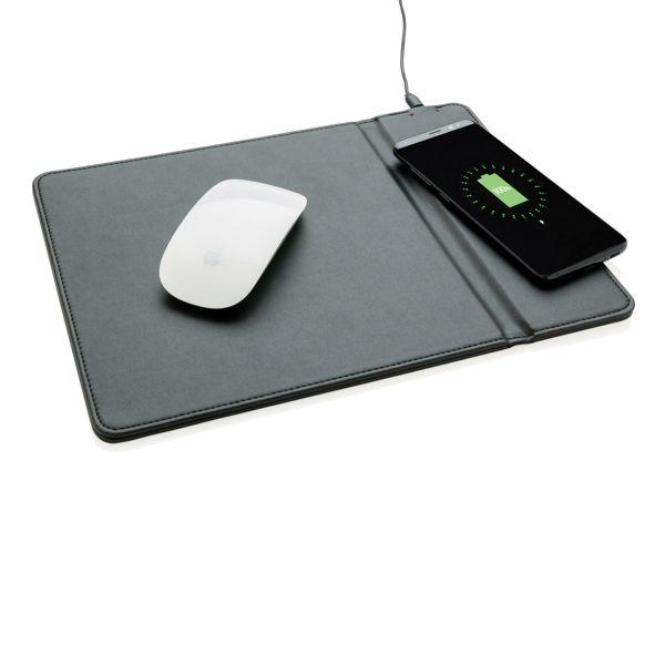 Tapis de souris avec chargeur à induction 5W, Objet personnalisable, comité social économique
