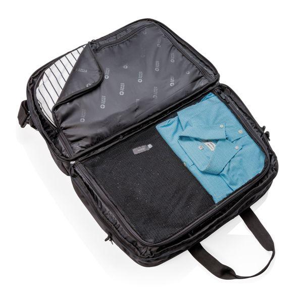 Swiss Peak RFID duffle with suitcase opening ADLANTIC IE SALES LTD WICKLOW A98 D282