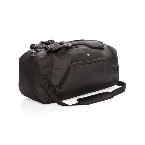 Sac de sport et sac à dos Swiss Peak anti RFID, Objet personnalisable, comité social économique