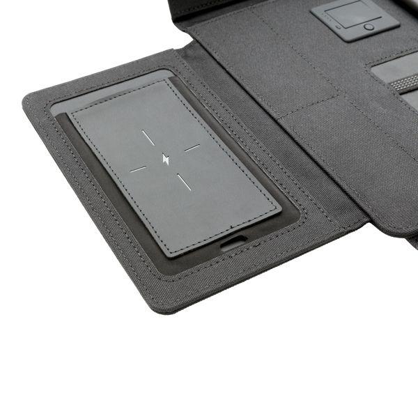 """Conférencier porte-tablette 10"""" avec chargeur sans fil Kyo WIZ PUB"""