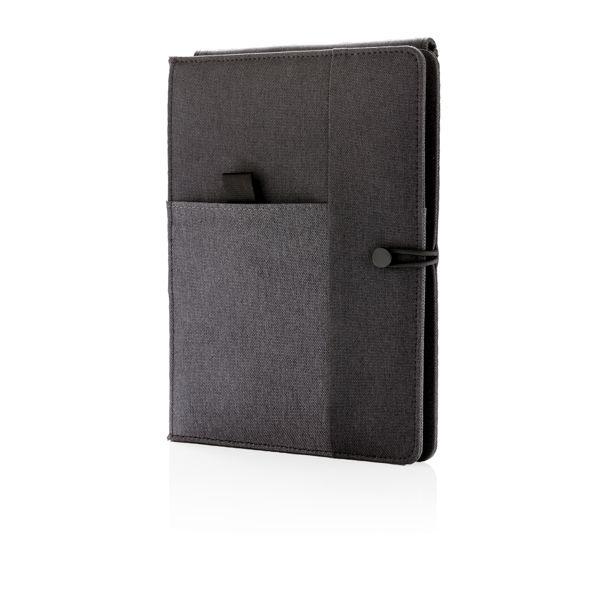 Carnet de notes avec chargeur sans fil 5W Kyoto