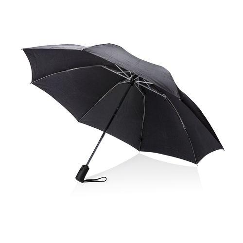 """Taitettava 23 """" Swiss Peak -sateenvarjo, autom. av./sulk."""
