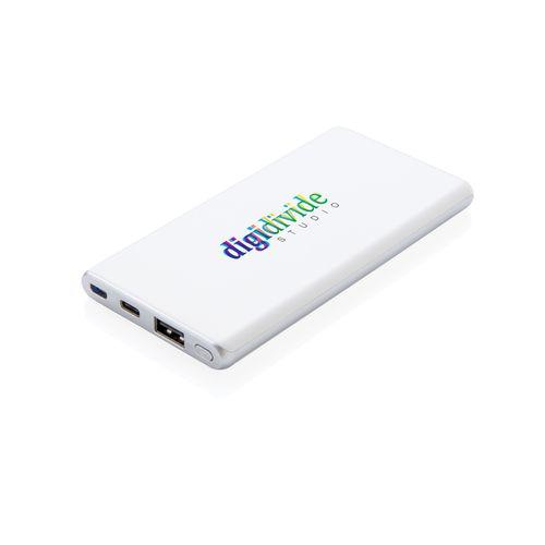 Batterie de secours Ultra rapide 5000 mAh et type-C WIZ PUB