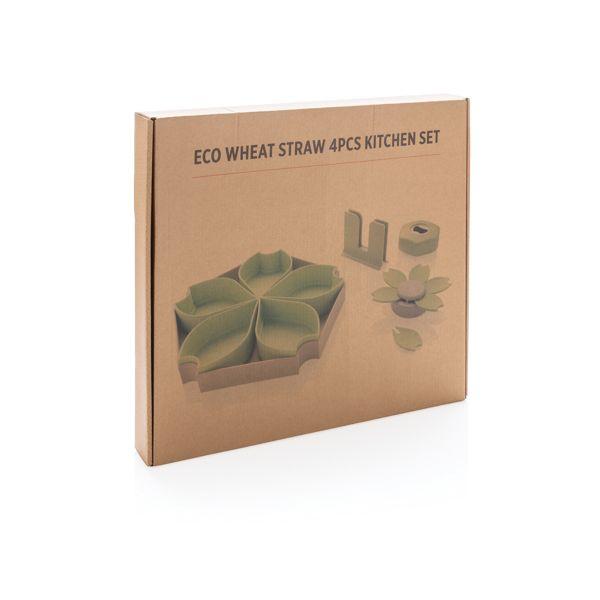 Set à tapas en fibre de blé WIZ PUB
