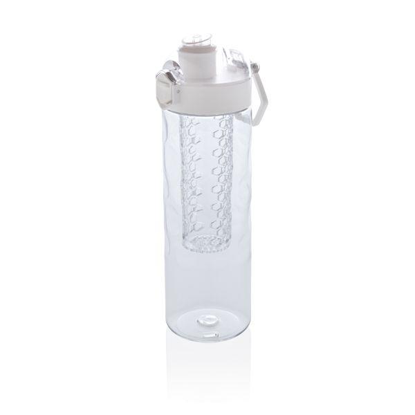 Honeycomb lockable leak proof infuser bottle