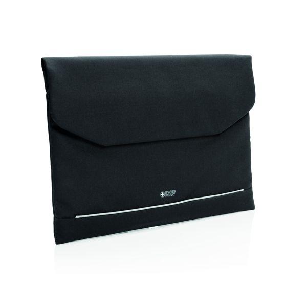 """Swiss Peak – RFID 15,6"""" laptopkotelo - PVC vapaa"""