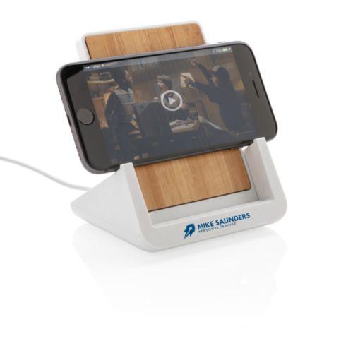 Support téléphone avec chargeur à induction 5W Ontario  personnalisé montpellier Paris Ile de France