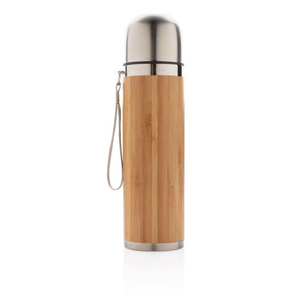 Bouteille isotherme en bambou par EG Diffusion 07210 BAIX Objets publicitaires et Cadeaux d'affaires Textile, PLV, Goodies, vêtement de travail, objets éco et durables , stylos , USB, multimédia