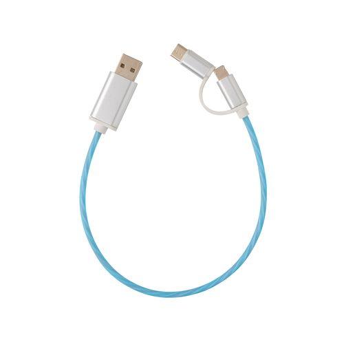 Câble lumineux 3 en 1