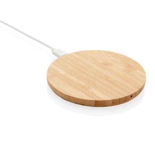Chargeur à induction 5W en bambou