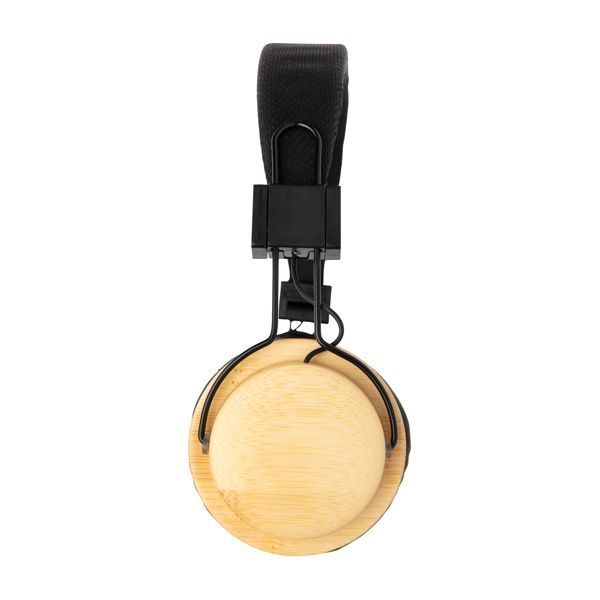 Casque audio sans fil en bambou WIZ PUB
