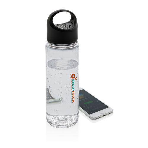 Bouteille d'eau avec haut parleur CADEAUX NOMINATIFS AZAP  Objets publicitaires personnalisé par Azap articles promotionnels Cadeau d'affaire