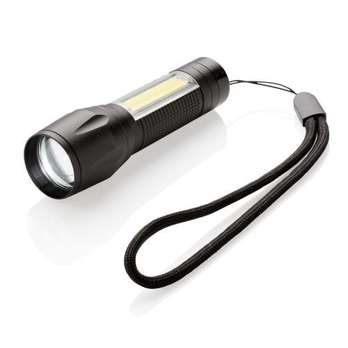 Lampe torche LED 3W COB  personnalisé montpellier Paris Ile de France