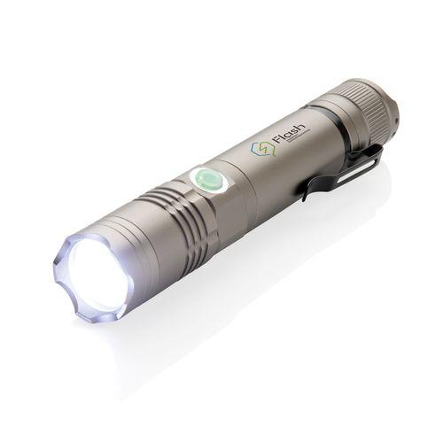 Lampe torche 3W rechargeable  personnalisé montpellier Paris Ile de France