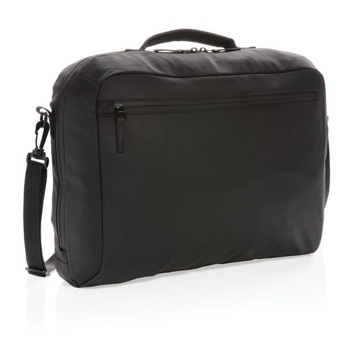 "Musta PVC-vapaa Fashion-laptoplaukku 15,6"""