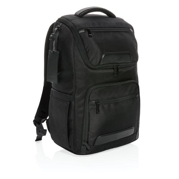 """Swiss Peak Voyager USB & RFID 15"""" laptop backpack"""