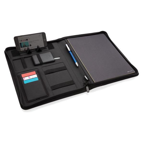 Conférencier A4 avec chargeur sans fil 5W et powerbank 5000