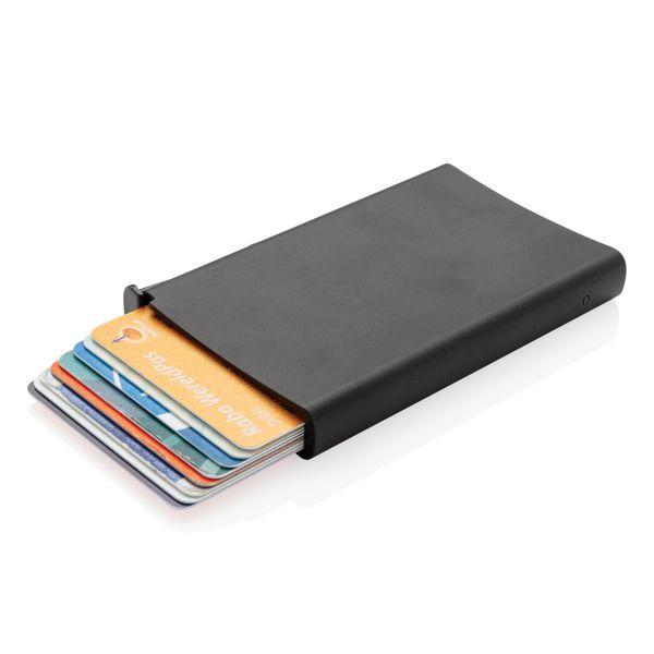 Porte cartes anti-RFID en aluminium, Objet personnalisable, comité social économique