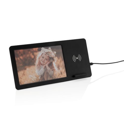 Cadre photo avec chargeur sans fil 5W