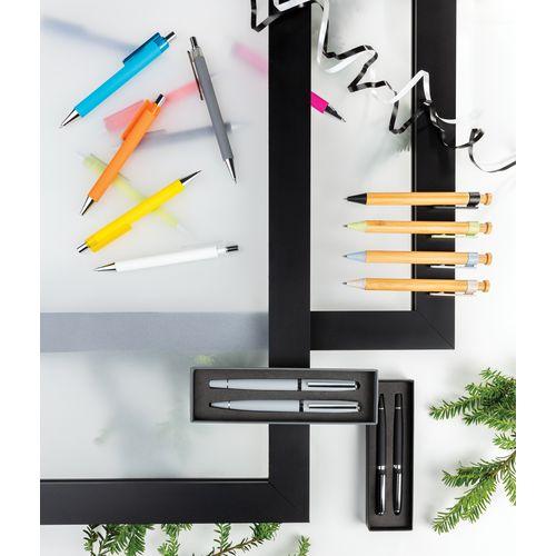 Stylo en bambou avec clip en fibre de paille  personnalisé montpellier Paris Ile de France