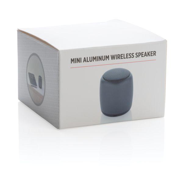 Mini enceinte sans fil en aluminium