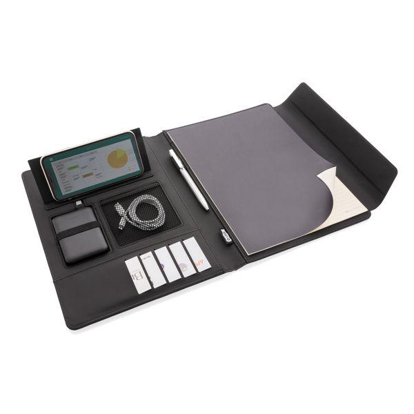 Conférencier A4 avec chargeur sans fil Fiko, Objet personnalisable, comité social économique