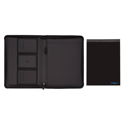 Carpeta Impact AWARE ™ RPET A4 con cremallera  Regalos Promocionales personalizados para Empresas