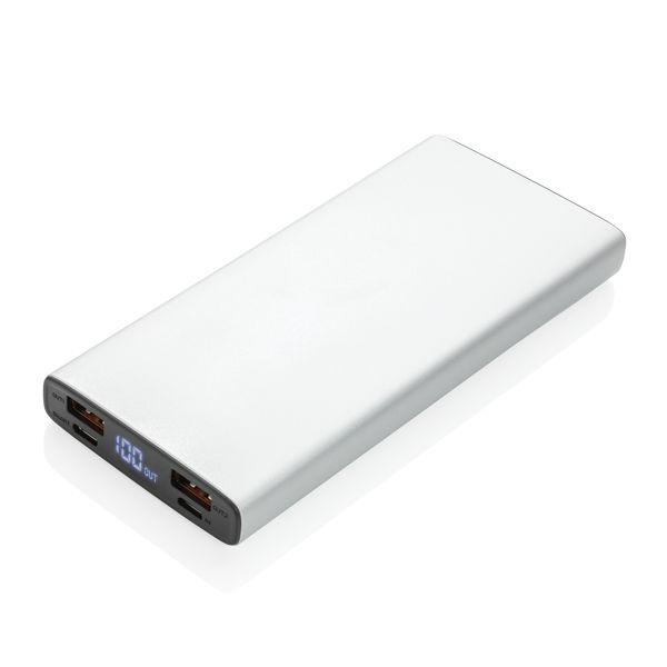 Batterie de secours 10.000 mAh avec PD 18W, Objet personnalisable, comité social économique