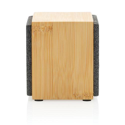 Enceinte en bambou 5W Wynn Objets publicitaires