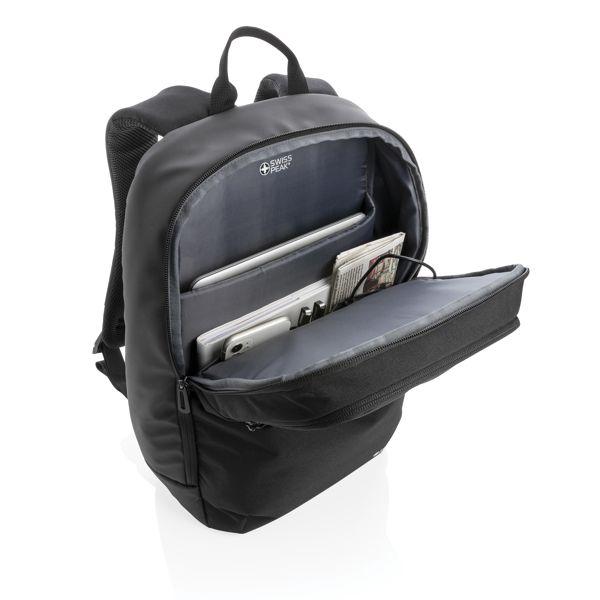 Sac à dos pour ordinateur portable avec poche stérilisateur  AZAP  Objets publicitaires personnalisé par Azap articles promotionnels Cadeau d'affaire