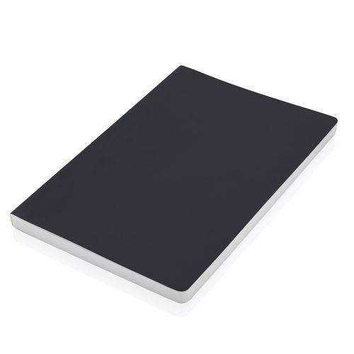 Carnet de notes A5 à couverture souple en papier minéral IMP - ISOCOM - OBJETS ET TEXTILES PERSONNALISES - NANTES
