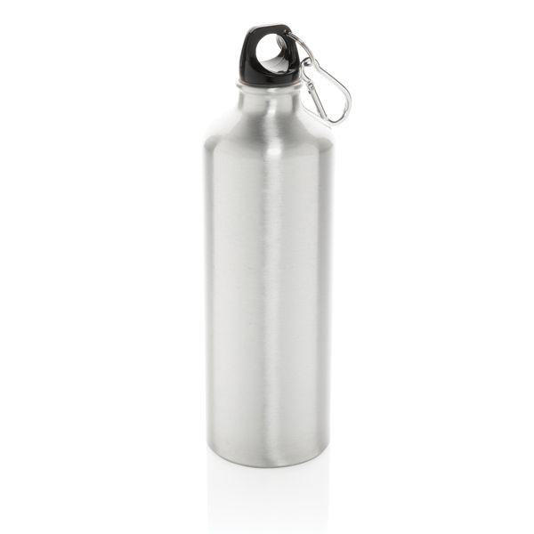 Bouteille d'eau XL en aluminium avec mousqueton, Objet personnalisable, comité social économique