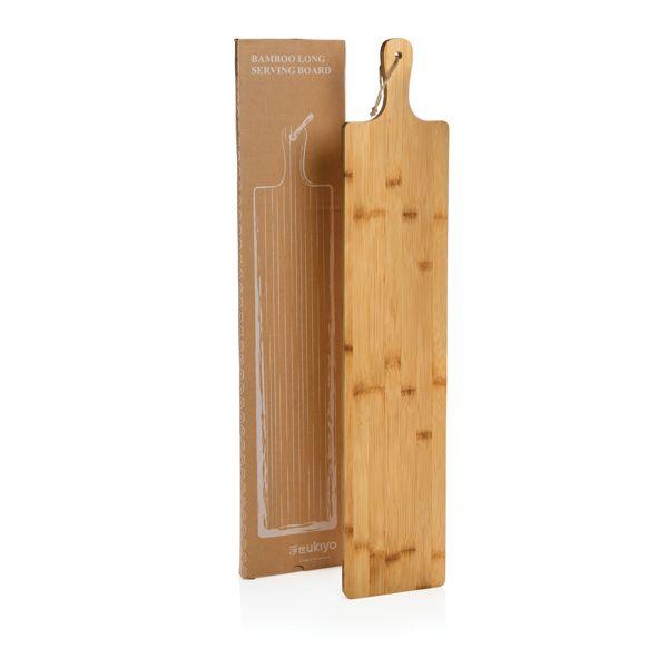 Grande planche de service en bambou Ukiyo