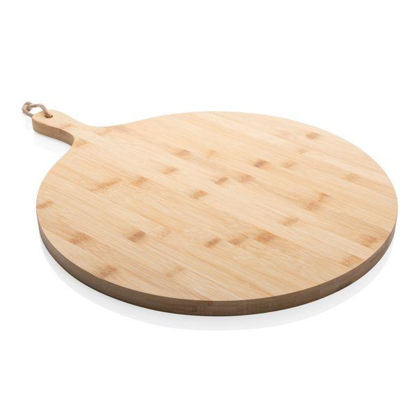Planche de service ronde en bambou Ukiyo, Objet personnalisable, comité social économique