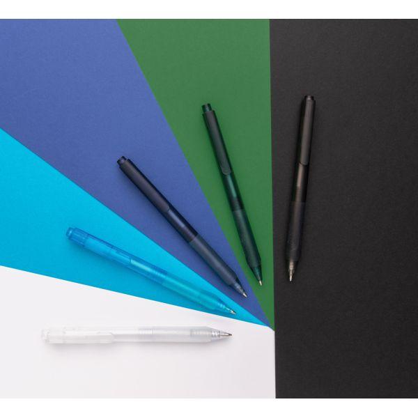 Stylo X9 finition givré avec grip silicone par EG Diffusion 07210 BAIX Objets publicitaires et Cadeaux d'affaires Textile, PLV, Goodies, vêtement de travail, objets éco et durables , stylos , USB, multimédia
