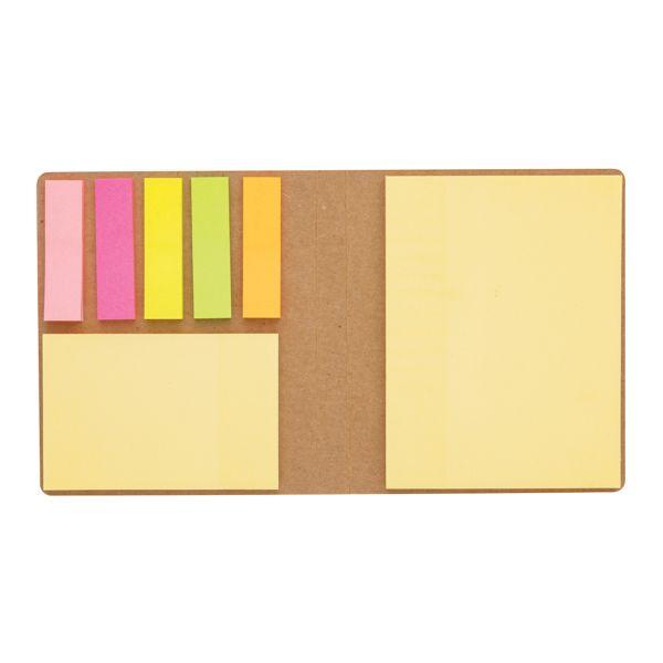 Carnet de notes autocollantes par EG Diffusion 07210 BAIX Objets publicitaires et Cadeaux d'affaires Textile, PLV, Goodies, vêtement de travail, objets éco et durables , stylos , USB, multimédia