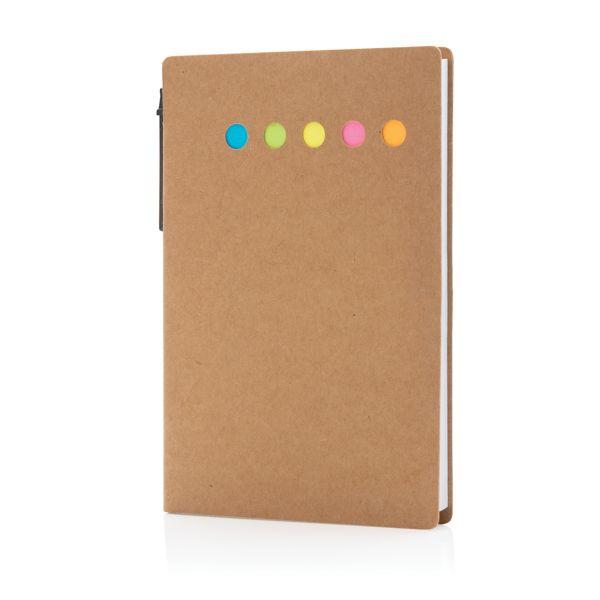 Carnet A6 de notes autocollantes avec stylo, Objet personnalisable, comité social économique