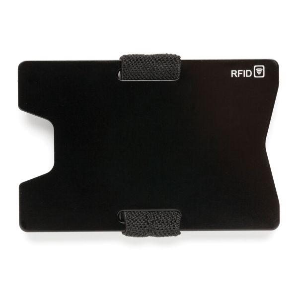 Alumiininen RFID anti-skimming minimalistinen lompakko