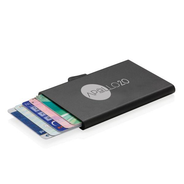 C-Secure alumiininen RFID-kortinpidike